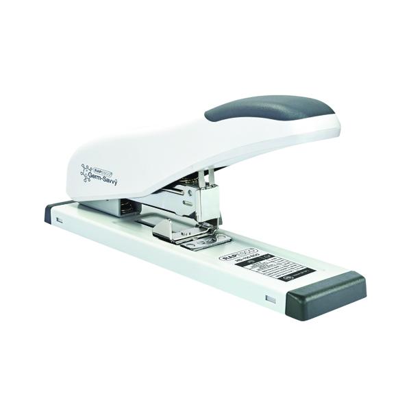 Rapesco ECO HD-100 Heavy Duty Stapler White (Capacity: 100 sheets of 80gsm) 1386