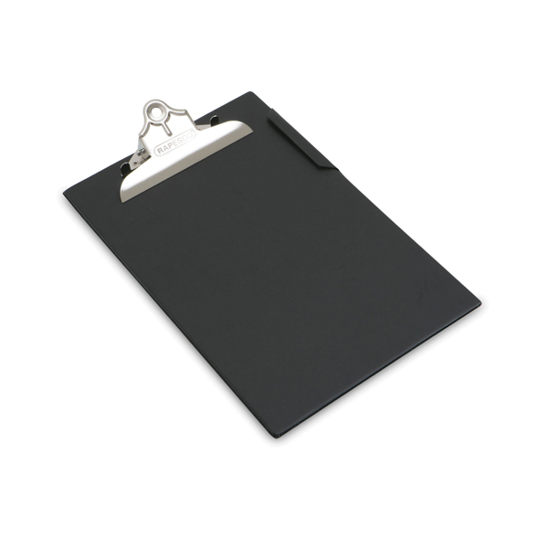 Rapesco Heavy Duty Clipboard Foolscap Black CD1000B2