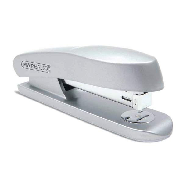 Rapesco Skippa Full Strip Stapler Silver (Capacity: 20 sheets of 80gsm paper) RES260C1