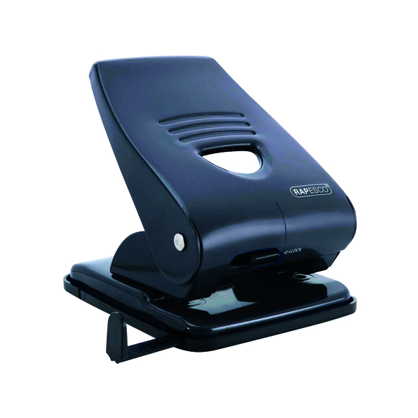 Rapesco 835 Hole Punch Black PF800AB1