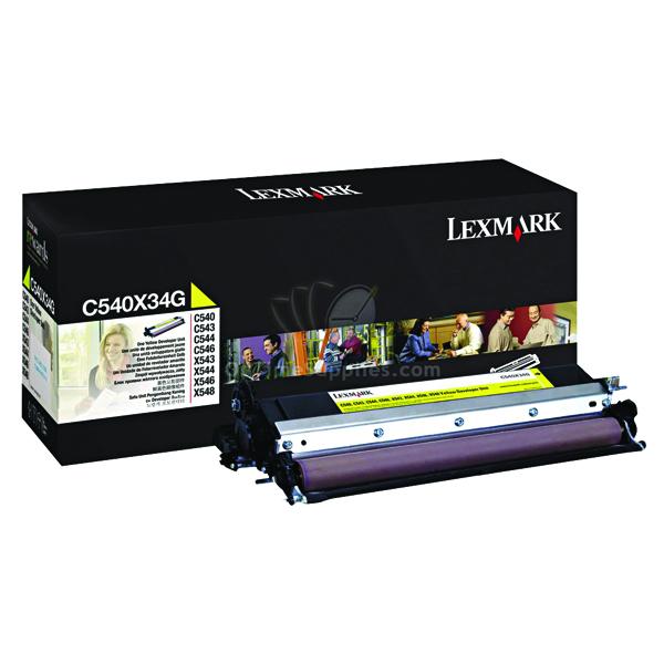 Lexmark C540 Yellow Developer Unit 0C540X34G
