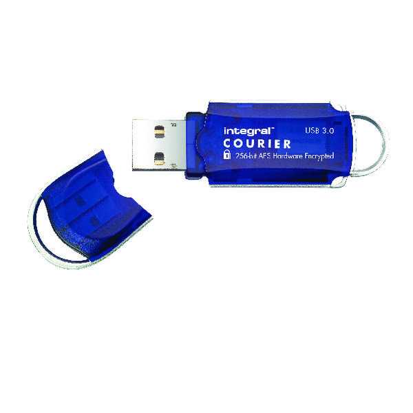 Integral Courier Encrypted USB 3.0 8GB Flash Drive INFD8GCOU3.0-197