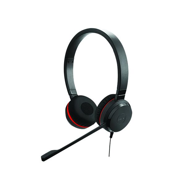 Jabra Evolve 20 SE MS Stereo Binaural Headset (Noise cancelling microphone) 499-823-309