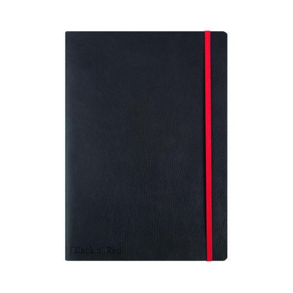 Black n' Red Soft Cover Notebook B5 Black 400051203