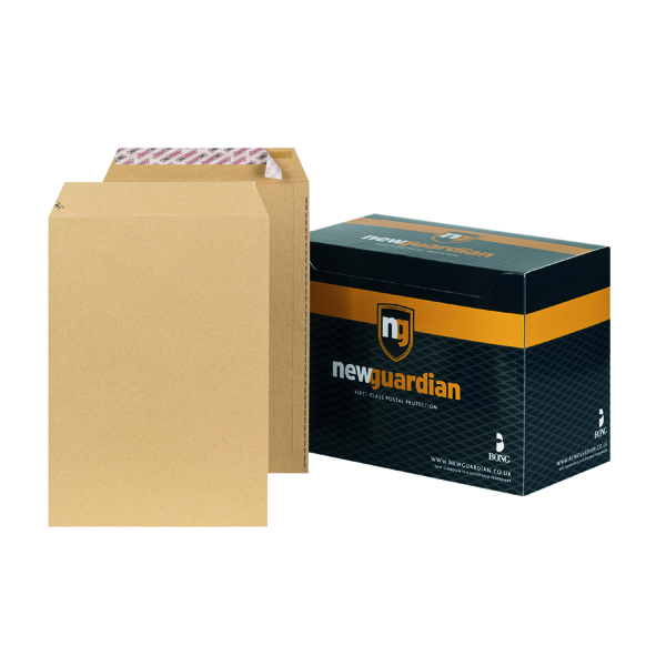 New Guardian C4 Envelope Peel/Seal 130gsm Manilla (Pack of 250) J26339