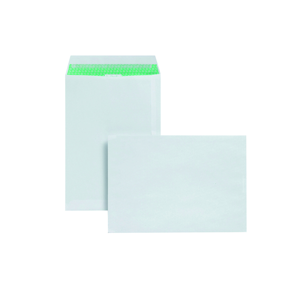 Basildon Bond C4 Pocket Envelope Plain White (Pack of 50) L80281