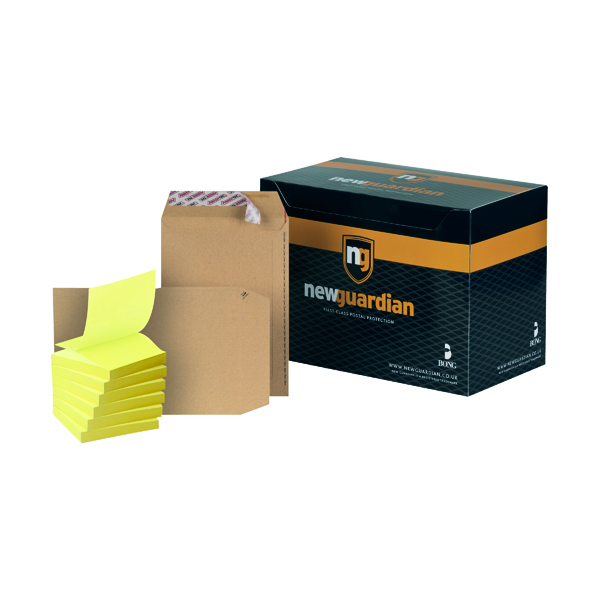 New Guardian C5 Envelope Peel and Seal Manilla (Pack of 250) FOC Post-it Notes Yellow Pk6 JDL814016