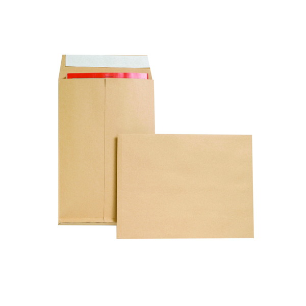 New Guardian Envelope 350x248x25mm P/Seal Manilla (Pack of 100) M29066