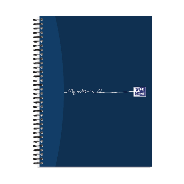 Oxford My Notes Card Cover Wirebound Notebook 160 Pages A4+ (Pack of 3) 100080545