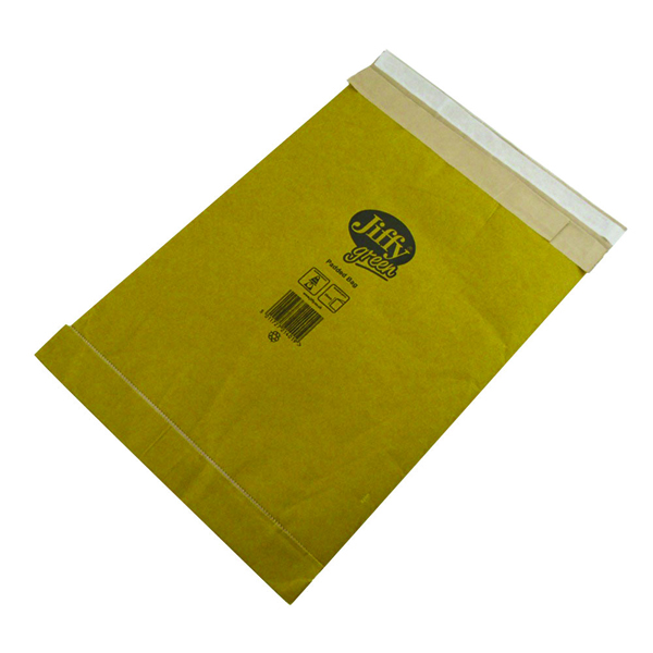 Jiffy Airkraft Bag Size 5 245x381mm Gld PB-5 (Pack of 10) JPB-AMP-5-10