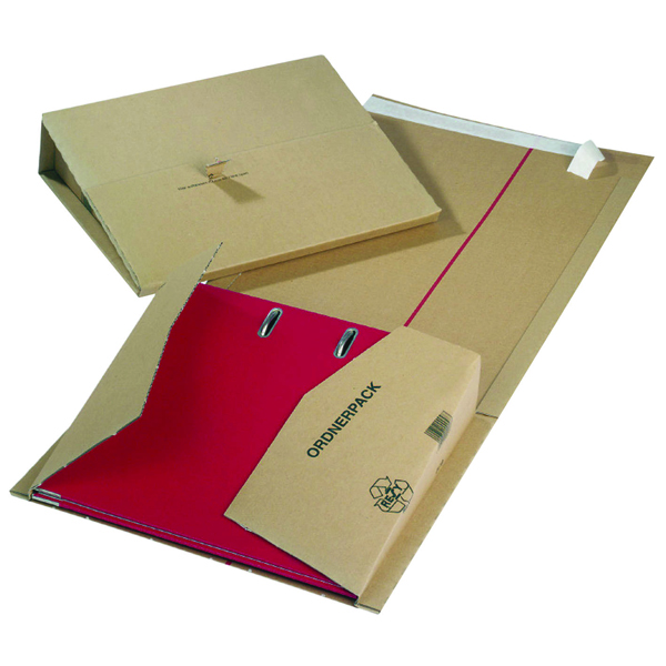 Jiffy Mailing Filer 320x290x35to80mm Buff (Pack of 20) 11493