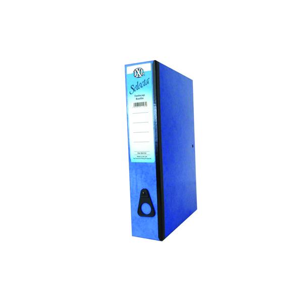 Concord IXL Selecta Box File Foolscap Blue (Pack of 10) 264152