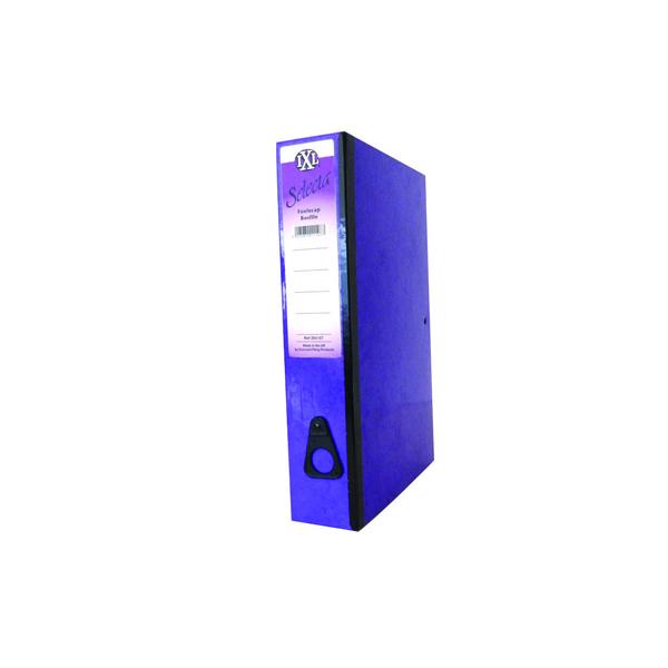Concord IXL Selecta Box File Foolscap Purple (Pack of 10) 264187