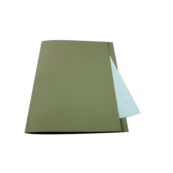 Guildhall Square Cut Folder Mediumweight Foolscap Buff (Pack of 100) FS250-BUFZ