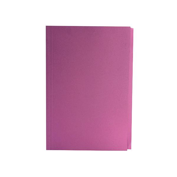 Guildhall Square Cut Folder Mediumweight Foolscap Pink (Pack of 100) FS250-PNKZ