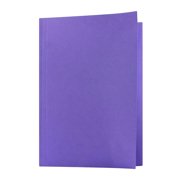 Guildhall Square Cut Folder Mediumweight Foolscap Mauve (Pack of 100) FS250-MVEZ