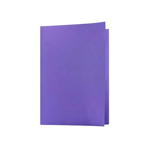 Guildhall Square Cut Folder Mediumweight Foolscap Mauve (Pack of 100) FS250-MVEZ