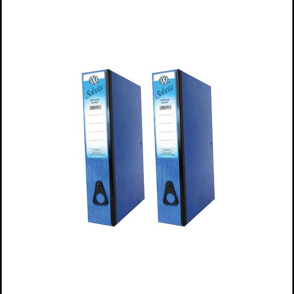 Concord IXL Selecta Box File Foolscap Blue (Pack of 10) BOGOF JT816014