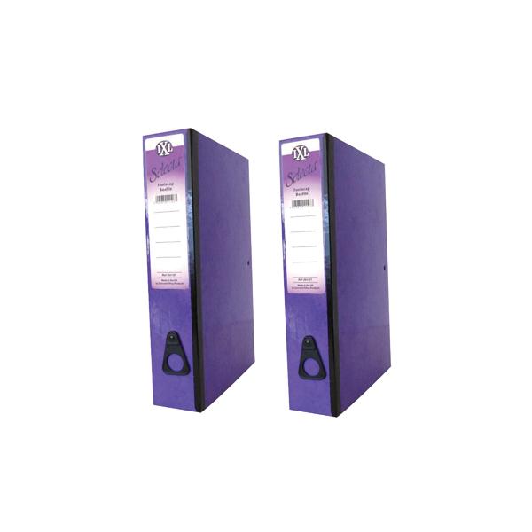 Concord IXL Selecta Box File Purple (Pack of 10) BOGOF JT816015
