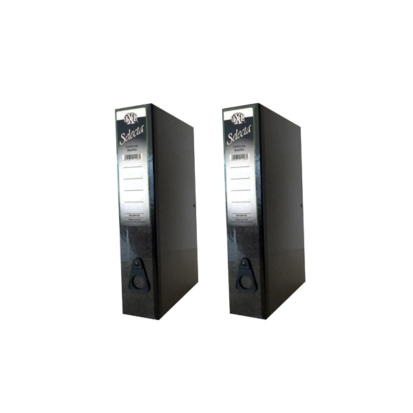 Concord IXL Selecta Box File Black (Pack of 10) BOGOF JT816016