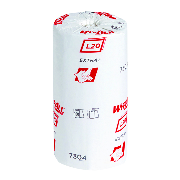 Wypall L20 Wiper Roll Small Blue (Pack of 24) 7304