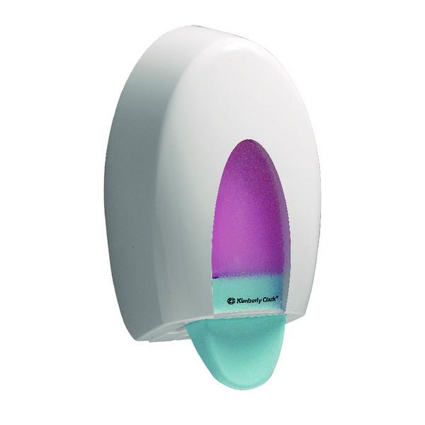 Aquarius Ripple Hand Cleanser Dispenser Metal 6976