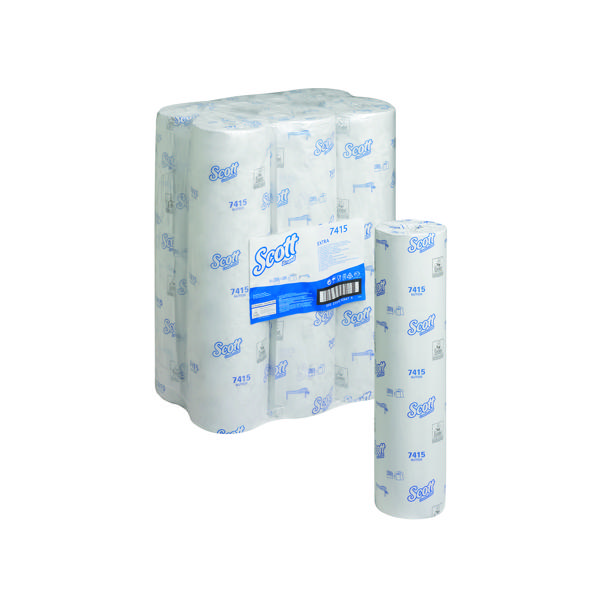 Wypall L20 Wiper Couch Roll White 140 Sheets (Pack of 6) 7415