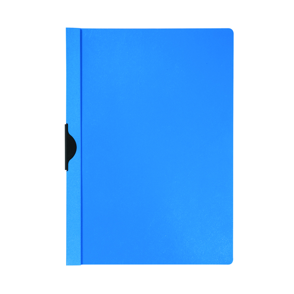 Q-Connect Quickclip File 3mm A4 Dark Blue (Pack of 25) KF00462