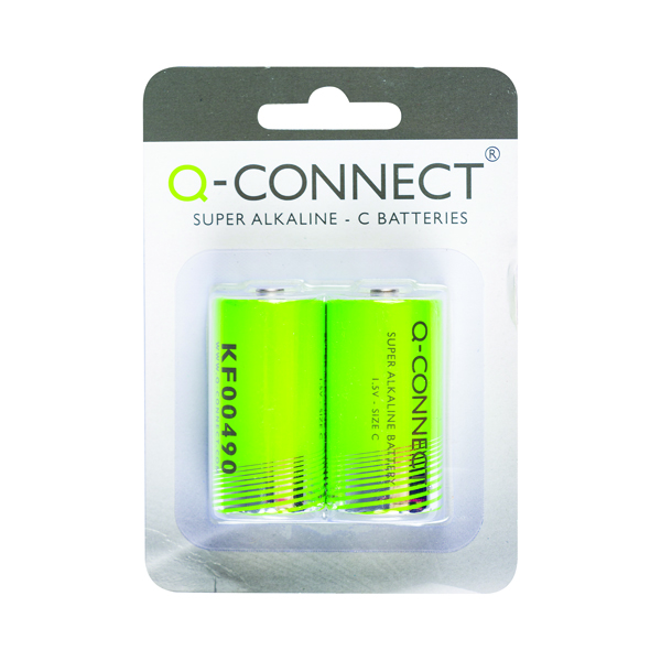 Q-Connect C Battery (Pack of 2) KF00490