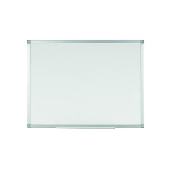 Q-Connect Aluminium Magnetic Whiteboard 1200x900mm 9700032 KF01080