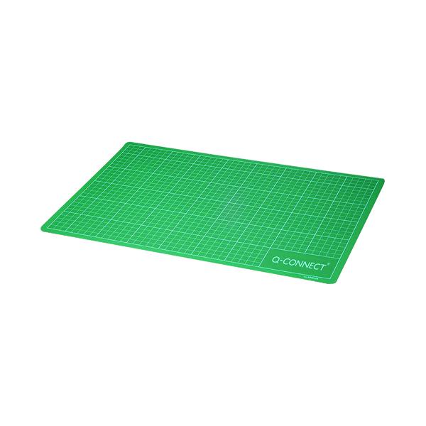 Q-Connect Cutting Mat A2 Green KF01137