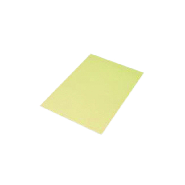 Q-Connect Feint Ruled Board Back Memo Pad 160 Pages A4 Yellow (Pack of 10) KF01388
