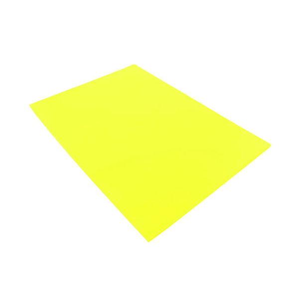 Q-Connect Cut Flush Folder A4 Yellow (Pack of 100) KF01487