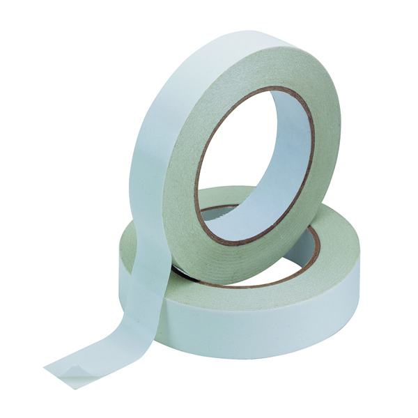 Q-Connect Double Sided Tissue Tape 25mm x 33m (Pack of 6) KF02221