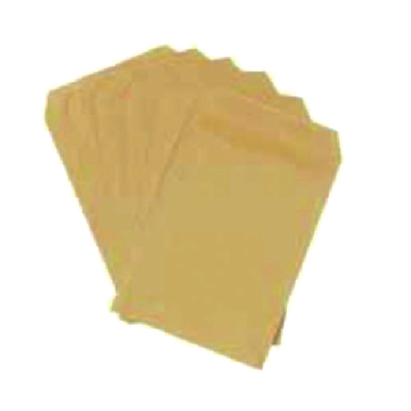 Q-Connect C4 Envelopes Pocket Self Seal 80gsm Manilla (Pack of 250) KF02720