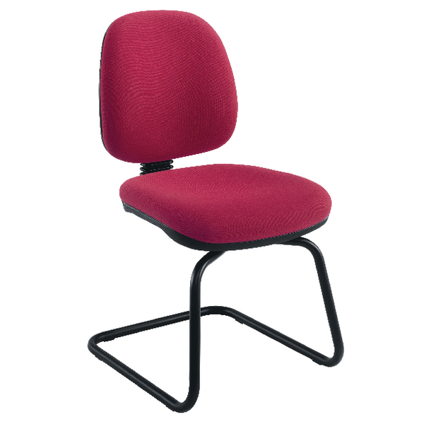 Jemini Sheaf Medium Back Visitor Chairs KF02736