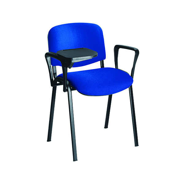 Jemini Chair Arm and Writing Tablet Black ( Simple to attach and remove for flexible use) KF03347