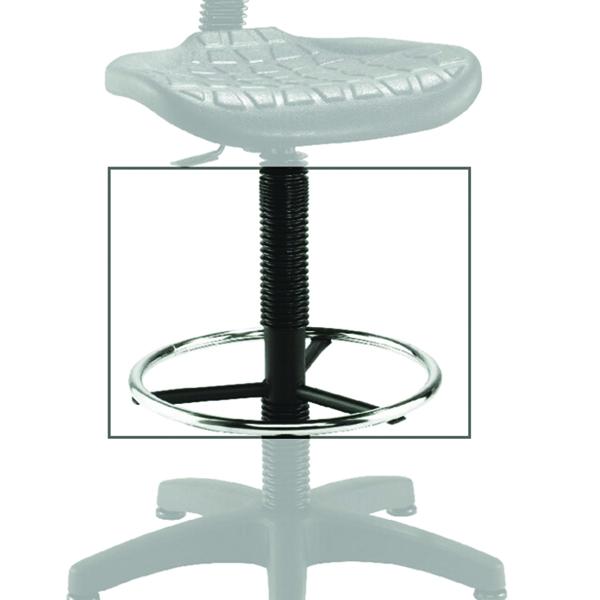 Jemini Black Factory Work Chair Extension (Designed for Jemini Factory Chair- KF00197) KF03369