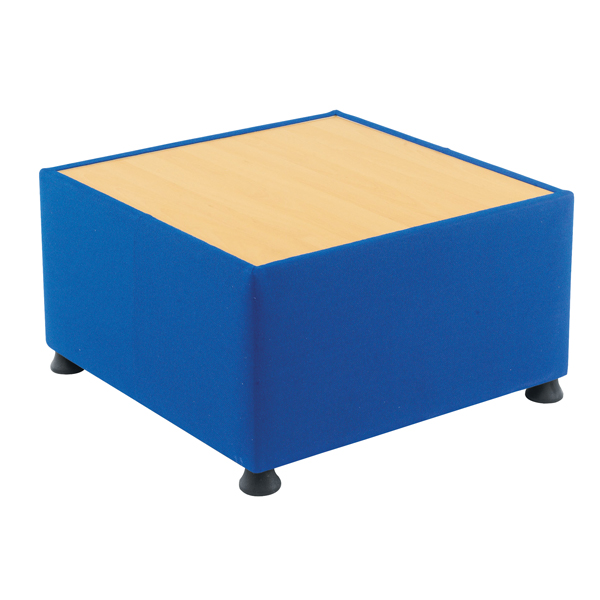 Arista Blue Modular Reception Coffee Table KF03491