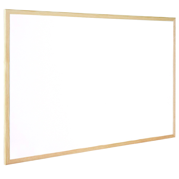 Q-Connect Wooden Frame Whiteboard 400x300mm KF03569