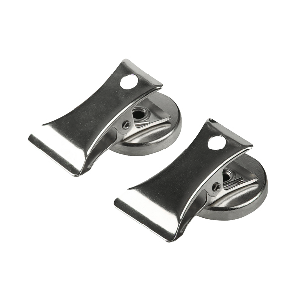 Q-Connect Silver Heavy Duty Bulldog Clip (Pack of 2) KF06343