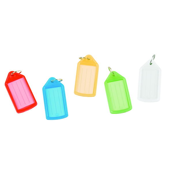 Q-Connect Sliding Key Fob Assorted (Pack of 40) KF10878
