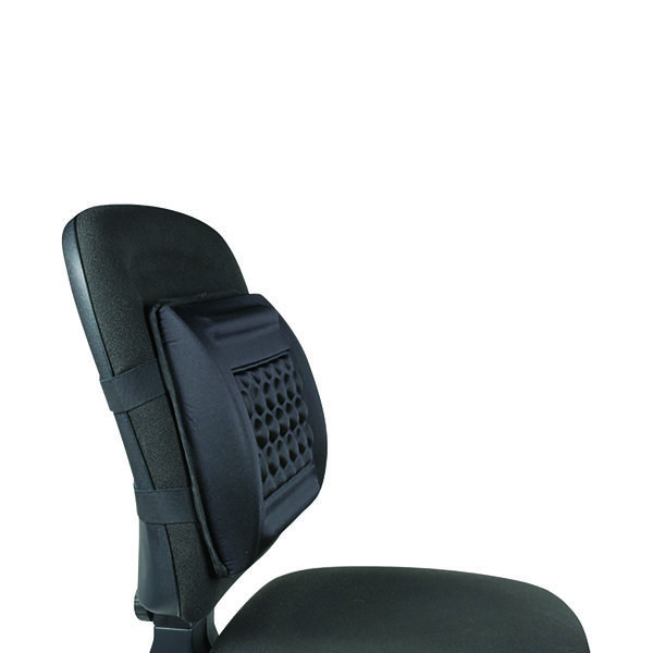 Q-Connect Foam Back Support Black KF15412