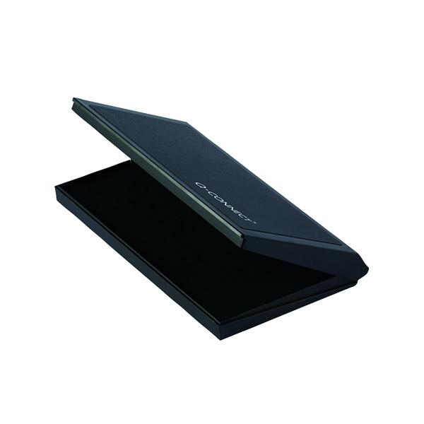 Q-Connect Large Stamp Pad Black KF15440