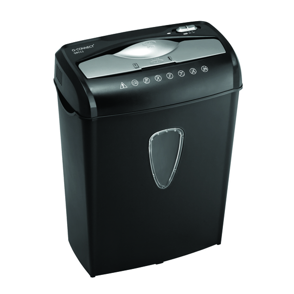 Q-Connect Q8CC2 Cross Cut Paper Shredder (Shreds up to 8 sheets of 75gsm paper)  KF17973