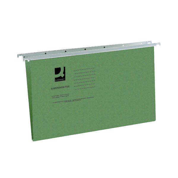 Q-Connect Foolscap Tabbed Suspension Files (Pack of 50) KF21001