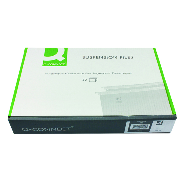 Q-Connect A4 Tabbed Suspension Files (Pack of 50) KF21004