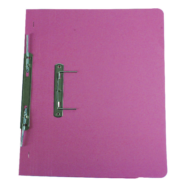 Q-Connect Transfer File 35mm Capacity Foolscap Pink (Pack of 25) KF26058