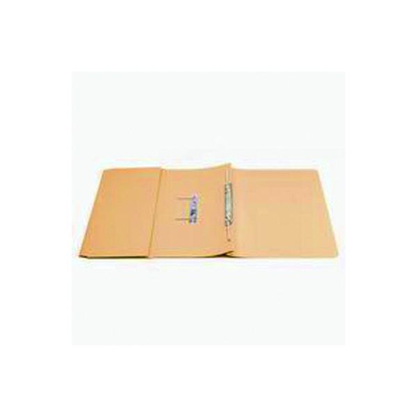 Q-Connect Transfer Pocket 35mm Capacity Foolscap File Orange (Pack of 25) KF26097