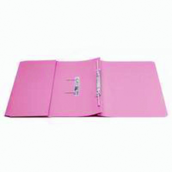 Q-Connect Transfer Pocket 35mm Capacity Foolscap File Pink (Pack of 25) KF26098